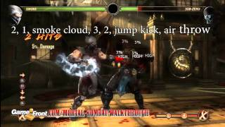 Mortal Kombat Walkthrough - Kombatant Strategy Guide - Smoke