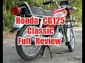 Honda cg 125 classic 2017 review by runway videos