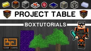 • Boxtutorials - Project Table Tutorial [feed The Beast]