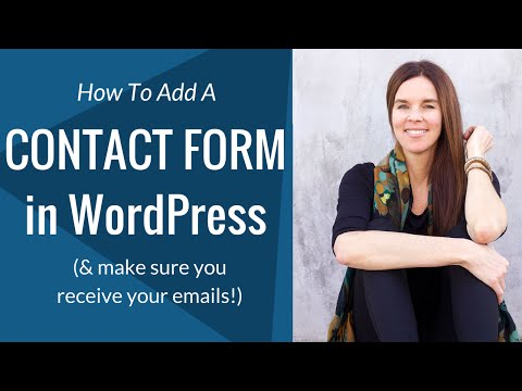 How To Make Sure You Receive Your Emails (WordPress Contact Form)