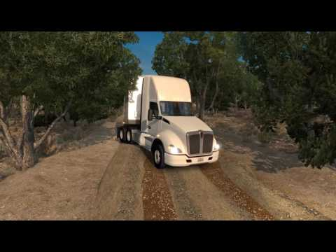 More Trucking On USA Offroad Alaska Map v 1.6 Done in  4th Part Video Part 2