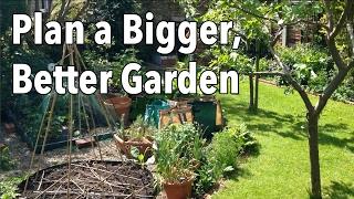 how to plan a bigger better garden easy vegetable garden planning