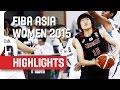 Thailand v Japan - Game Highlights - Group A - 2015 FIBA Asia Women's Championship