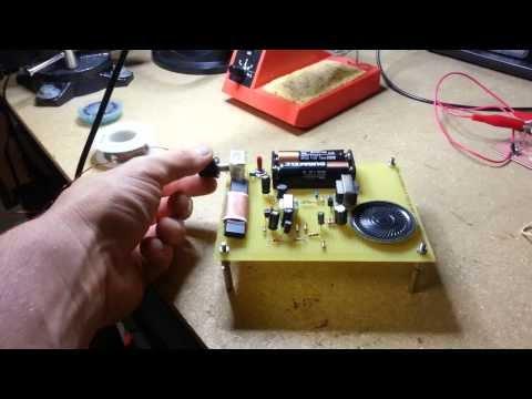 Reflex AM Radio Receiver