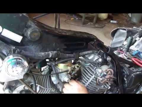 Yamaha Virago Carb Removal and Install (87-99)