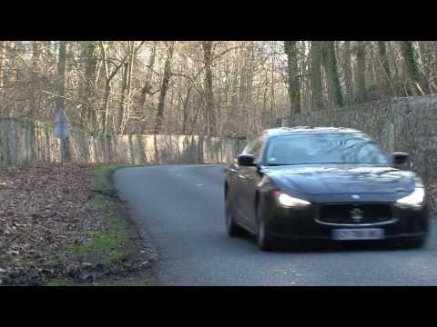 Maserati Ghibli Diesel acceleration 0 100 km h 0 60 mph
