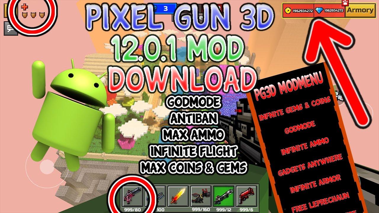 pixel gun 3d mod apk unlimited coins and gems 2017 download