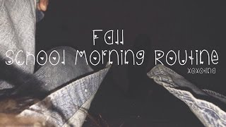 School Morning Routine: Fall Edition! Thumbnail