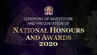 Ceremony of Investiture and presentation of National Honours and Awards 2020