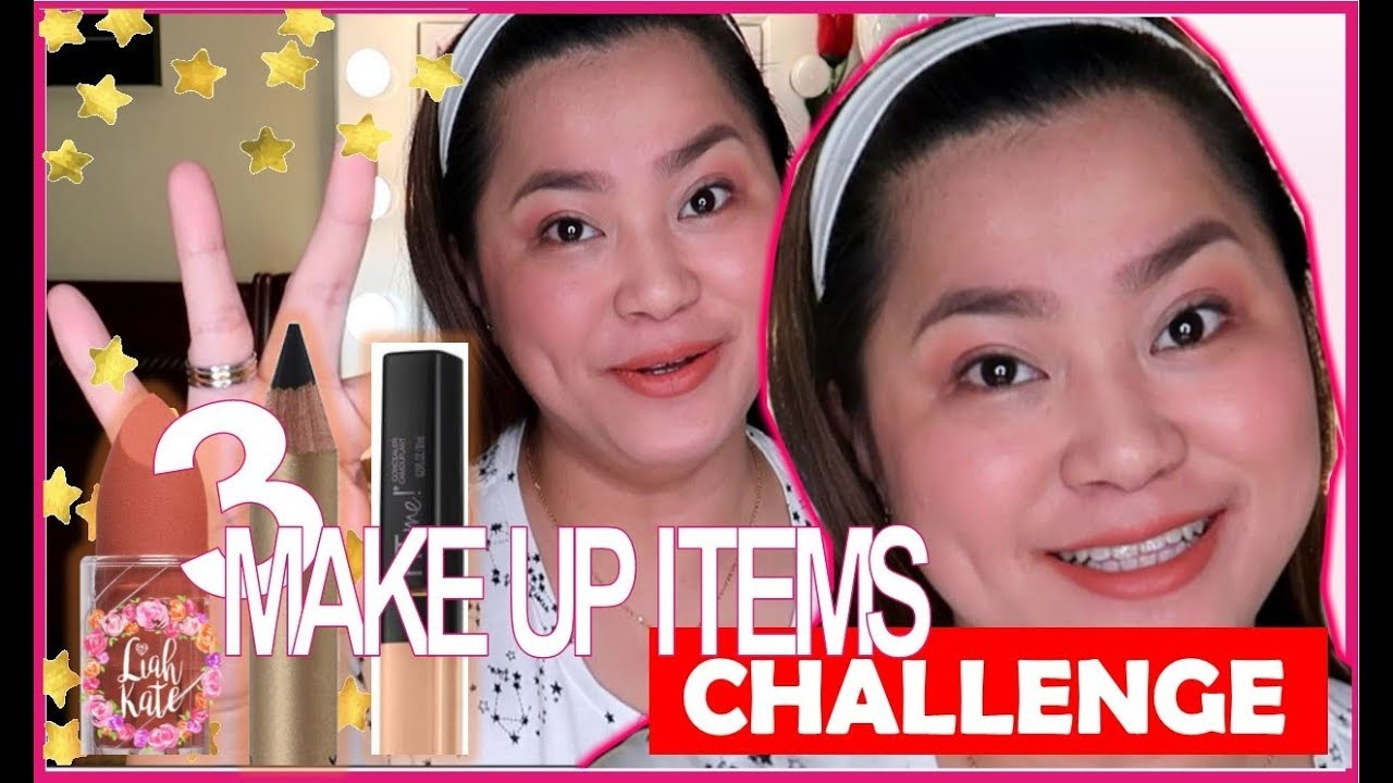 Download NATURAL LOOK USING 3 MAKE UP PRODUCT CHALLENGE!