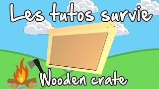 Unturned Fr Tuto Survie : Wooden Crate Craft