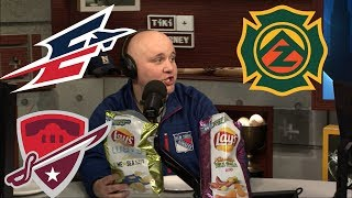 Mraz compares the new Lay's potato chip flavors to AAF teams I The D.A. Show