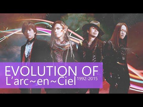 EVOLUTION OF L'arc~en~Ciel (1992-2015)