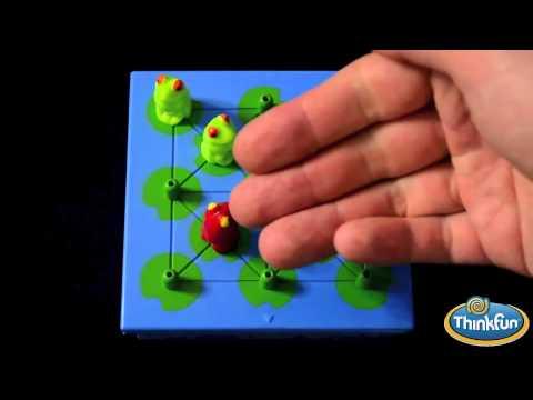 Игра головоломка Лягушки непоседы Hoppers ThinkFun