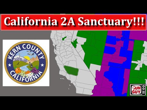 Kern County California May Be The Next Second Amendment Sanctuary!