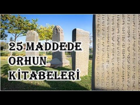 25 Maddede Orhun Kitabeleri (Taner Hoca)