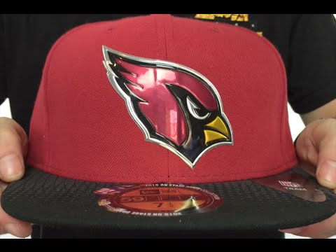 Cardinals  2015 NFL DRAFT  Burgundy-Black Fitted Hat by New Era ... 49d0f18830b0