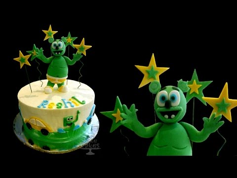 Gummy Bear (cartoon) cake - TUTORIAL