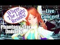 Where The Light Resides! {The End of Light} Song by Quna (Eri Kitamura) Live Concert PSO2 PS4/PC