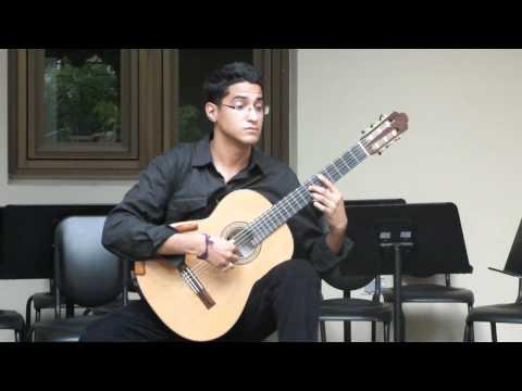 Capricho Arabe de Francisco Tarrega ( Jehu Otero )