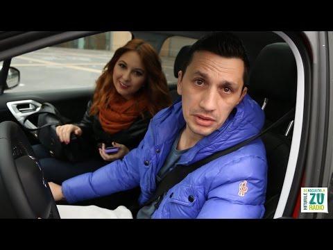 ZUBER pentru ZUper fete - Ana si Flick in Peugeot 208