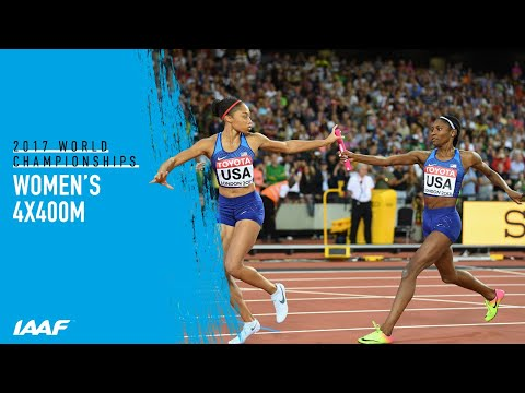Women's 4x400m Relay Final | World Athletics Championships London 2017