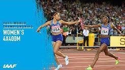 Women's 4x400m Relay Final   World Athletics Championships London 2017