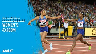 Women's 4x400m Relay Final | IAAF World Championships London 2017
