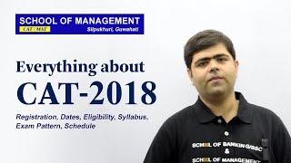 CAT 2018 - Registration, Dates, Syllabus, Eligibility, Exam Pattern, Selection Process