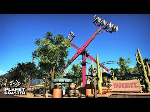 Planet Coaster | Adventure World 🌍 | Ep.40 Mexico - Insanity Ride & Toilets