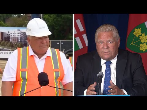 WATCH: Doug Ford's shifting position on vaccine passports | COVID-19 in Ontario