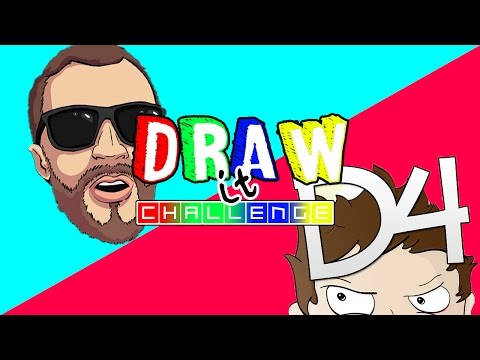 DRAW IT CHALLENGE ep. 3 - THEDELUXE4 VS NOBODY EPIC