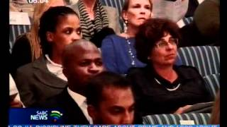 State should stop blaming apartheid for its failures Madonsela.wmv