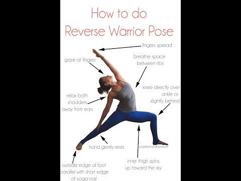 How to do Reverse Warrior Pose