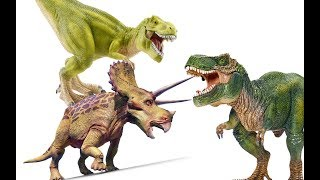 Динозавры. ПОХИЩЕНИЕ ТРИЦЕРАТОПСА. Тираннозавры. Видео про динозавров на русском языке thumbnail