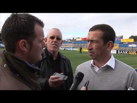 Justin Edinburgh post match interview Macclesfield (A) 13Oct12
