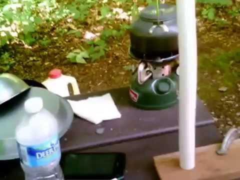 DIY pvc tarp poles for picnic table & DIY pvc tarp poles for picnic table - YouTube