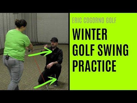 GOLF: Winter Golf Swing Practice – Swing Direction