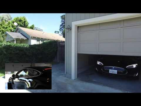 Watch me control my Tesla with Amazon Echo