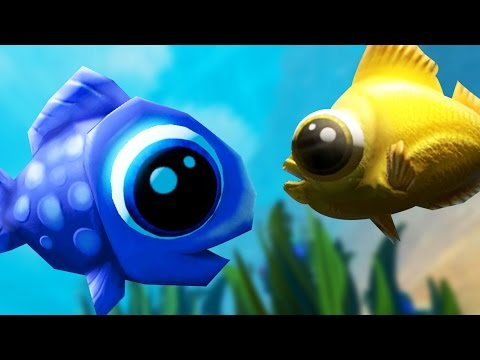 BEST FISH FRIENDS - Feed and Grow Fish ONLINE MULTIPLAYER - Part 16 | Pungence