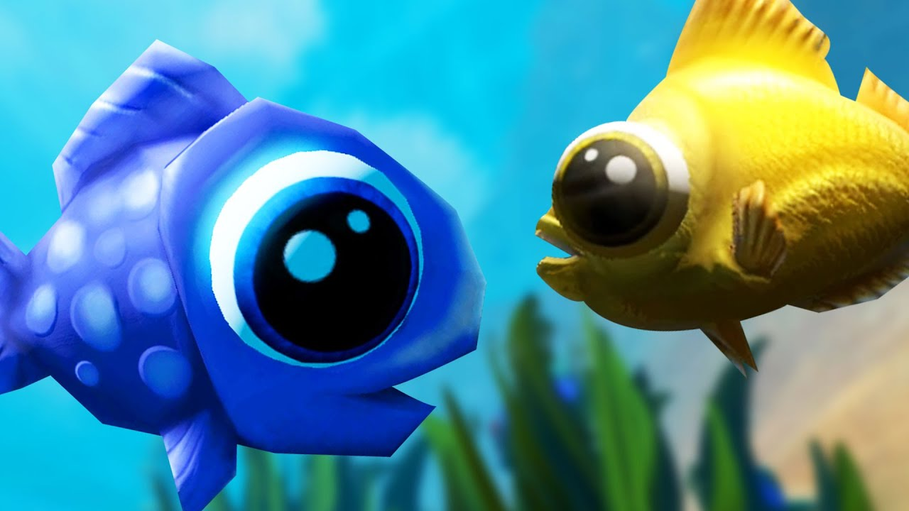 Best fish friends feed and grow fish online multiplayer for Fish and grow