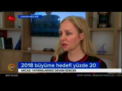 Diane Arcas / Kanal 24 Röportajı