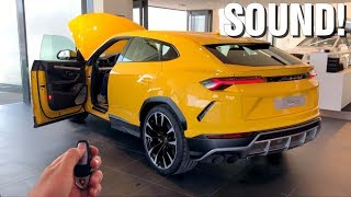 Lamborghini URUS sound + CONCOURS Top Marques Monaco!
