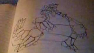 comment dessiner groudon