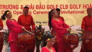Sự kiện Khai Trương| Sự kiện Khai Trương Sân Golf Hoàng Gia Part1