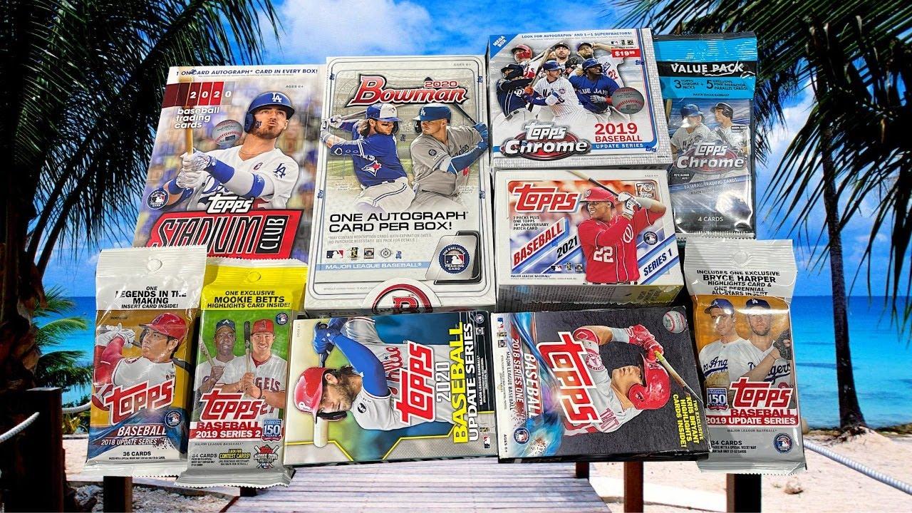 🚨Mid-Week Super Mixer🚨 Baseball Cards Opening