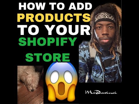 ADDING PRODUCTS TO YOUR SHOPIFY DROPSHIPPING STORE EASY (Step By Step Walkthrough) thumbnail