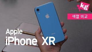 아이폰 XR 6가지 색깔 전부 비교!!! [4K]