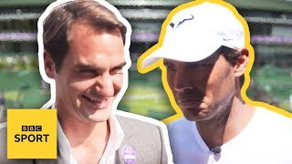 Tennis or football? - Wimbledon 2018 - BBC Sport