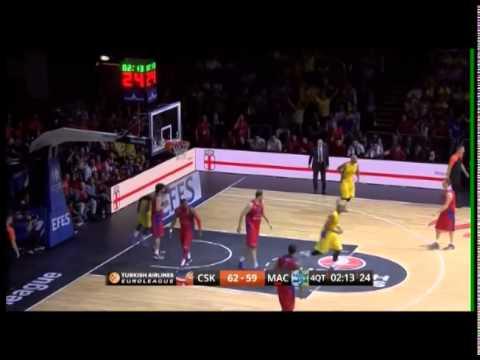 Maccabi Tel Aviv vs. CSKA Moscow - Final 4 2014 - Maccabi's Spirit